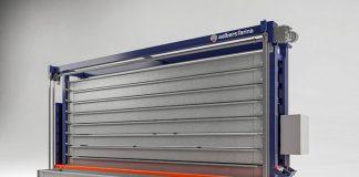 Het langgoedmagazijn Compact is 3,75 meter hoog. Het is 6 meter lang en men kan kiezen uit 200 of 400 mm hoge bakken.