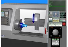 Fanuc 3D CNC Simulator Pro draaien.