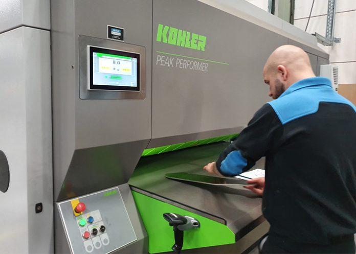 INNO-Metaal heeft gekozen voor een Peak Performer 50P1600 richtmachine. Deze is geschikt voor het richten van lasersnijdelen met een dikte van 0,6 tot 16 mm.