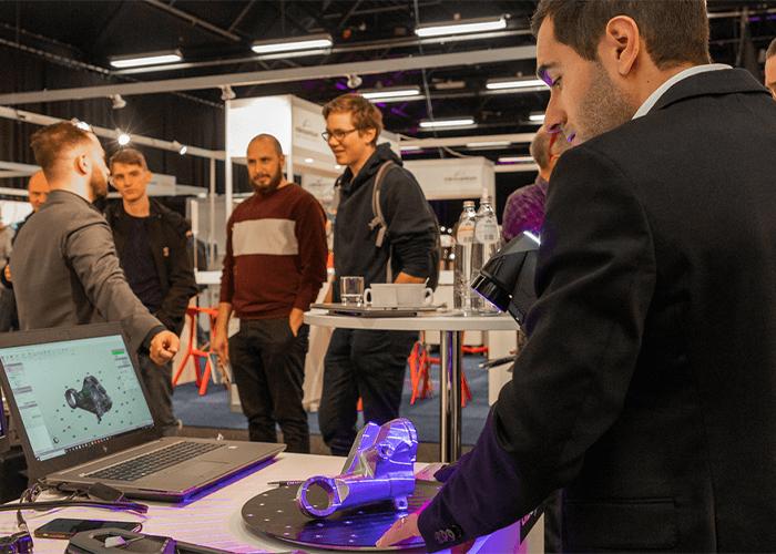 RapidPro toonde de mogelijkheden en kansen op het gebied van digitale productie. Deze technieken spelen een steeds grotere en belangrijkere rol binnen de technische maakindustrie.