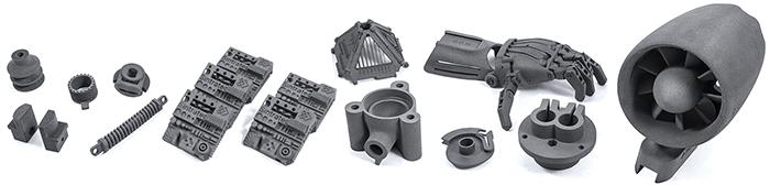 Sintratec produceert compacte SLS-systemen, die met behulp van een laser laag na laag een poeder smelten tot vaste producten.