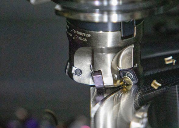 De SSN11-frees is leverbaar in diameters van 32 – 125 mm, met tussenmaten voor matrijs- en vormtoepassingen.