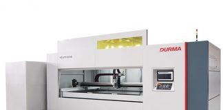 Durma heeft de HD-FO fiberlasersnijmachine zo compact mogelijk gehouden, zodat deze in elke werkplaats te plaatsen is.