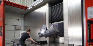 De Matec 60HV/HVU is leverbaar met een X-as bereik van 3.000 tot 10.000 mm en een Z-as tot 1850 mm. De uitlading van de Y-as is 1.630 mm.
