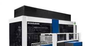 RVS Clean heeft geïnvesteerd in een volautomatische dampontvetter EcoCcore van Ecoclean. Deze reinigingsmachine, met een korf van 670x480x400 mm, zorgt ervoor dat de Grade 2 reiniging in één stap gebeurt.