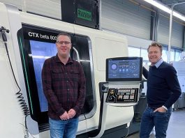 Jeroen Nije (links), mede-eigenaar van de Nijdra Group, en manager Dennis van Dijk.