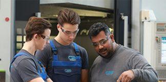 De bedrijfsschool GBS TEC zet in op een veilige leeromgeving waar veel aandacht is voor de begeleiding van de deelnemers.