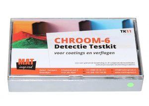 De TK11 chroom-6 detectie testkit.