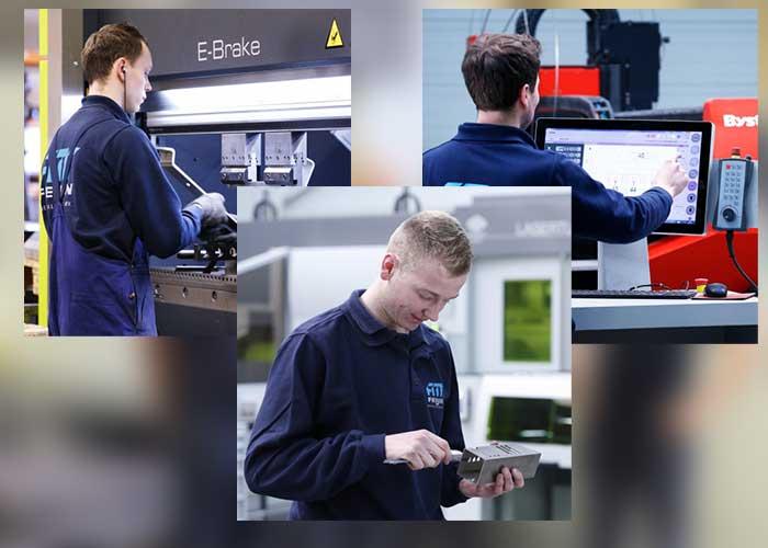 Feijen beschikt over een uitgebreid machinepark, dat naast de vele snijmachines, ook kantbanken, ontbraammachines, zaagautomaten, walsen, lasapparaten en draai- en freesbanken omvat.