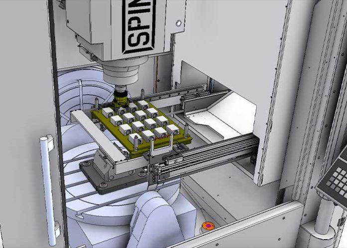De U-Loader ist softwarematig volledig in de machinebesturing geïntegreerd. Er is dus geen extra robotbesturing meer.