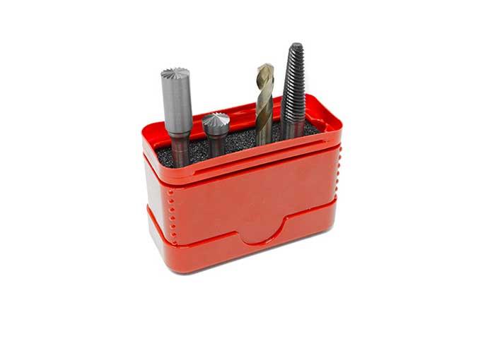De nieuwe serie stiftfrezen is speciaal ontworpen voor het voorbereiden van het schoon verwijderen van afgebroken bouten.