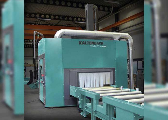 Onderdeel van de samenwerking is dat Kaltenbach een nieuwe coping-robot (thermische snijrobot) aan haar assortiment toevoegt, Powered by HGG.
