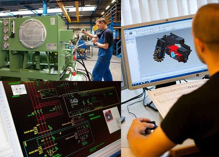 Bauhuis beschikt over een technisch team van allround vakmensen op het gebied van onder andere electrical engineering, hydraulische montage en mechanical engineering.