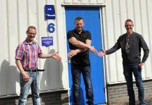 Albert en Guus Hansman hebben zo'n 25 jaar geleden Laveno Metaalbewerking overgenomen van hun vader. Nu dragen zij het bedrijf over aan Matthijs Post.