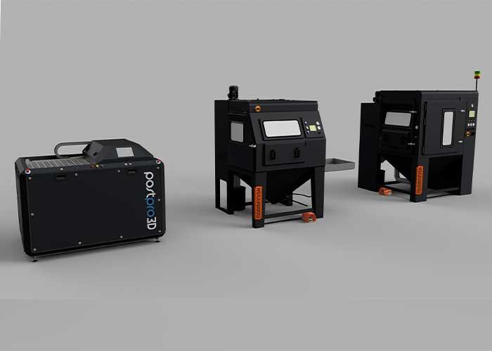 De oppervlaktekwaliteit die met de AMT PostPro3D machines kan worden bereikt, is te vergelijken met die van moderne spuitgiet-technieken.