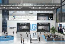 WeAreCOBOTS mikt op een Europees publiek met meer dan dertig virtuele stands en vijftig live keynotes.
