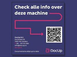 Via een QR-code op de machine krijgen heftruckchauffeurs, vlootbeheerders, servicemonteurs en keurmeesters toegang tot alle documenten die voor hen relevant zijn.