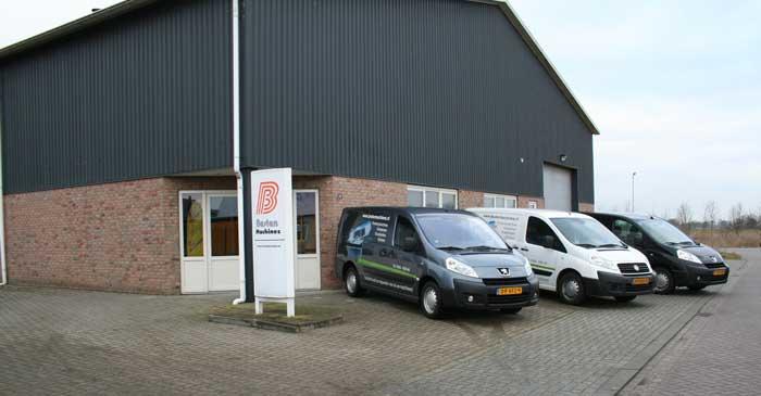 Het bedrijfspand van Besten Machines in Haarle.