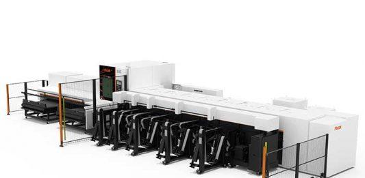 De FT-150 Fiber kan werkstukken bewerken tot een maximale lengte van 6.500 mm, met een gewicht tot 150 kg en een maximale buisdiameter van 152,4 mm.