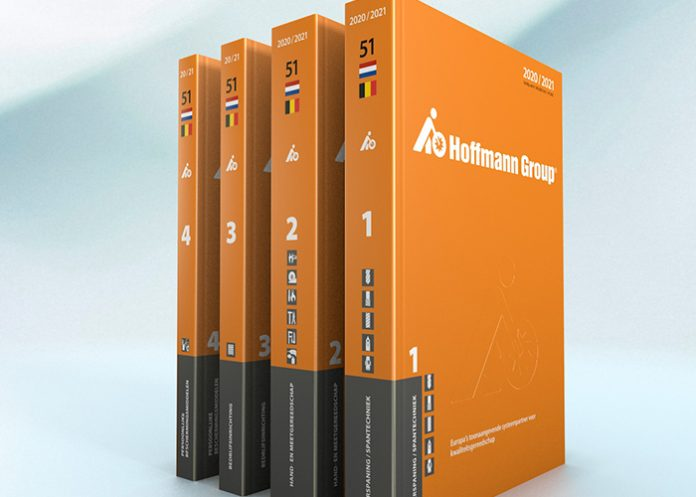 De nieuwe catalogus 2020/2021 van de Hoffmann Group is geldig vanaf 1 augustus 2020