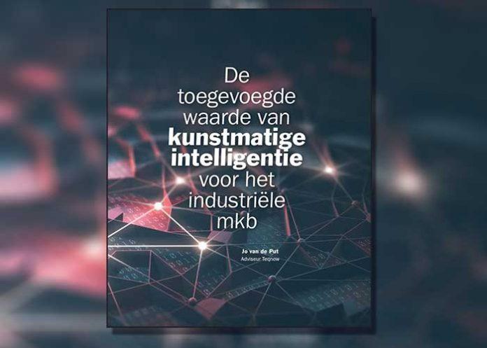Het boekje 'De toegevoegde waarde van kunstmatige intelligentie voor het industriële mkb' is voor Teqnow-deelnemers gratis beschikbaar.