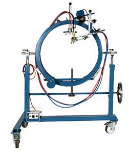 De RSG brandsnijmachines voor buizen zijn speciaal geschikt voor het snijden van de stukken van een segmentbocht.