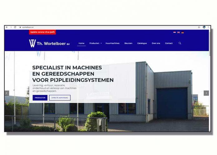 De nieuwe website biedt een duidelijk overzicht van het programma van Wortelboer, alsmede het verhuurprogramma.
