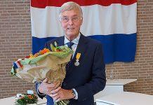 Harm Kort, ridder in de orde van Oranje Nassau