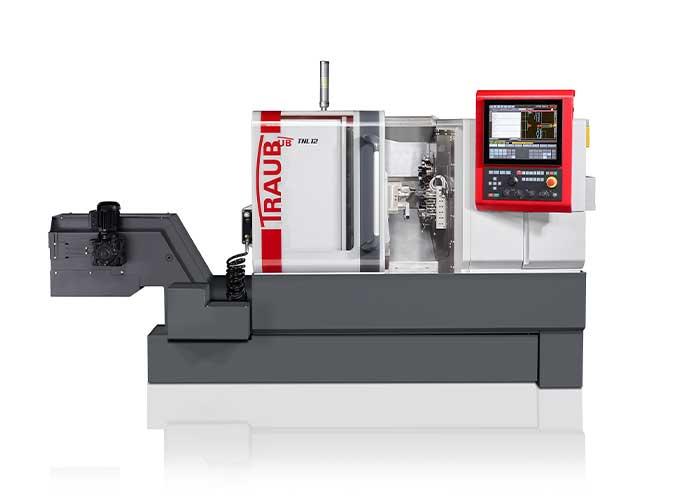 De tweede generatie van de langdraaiautomaat Traub TNL 12 kan in korte tijd worden omgebouwd tot een kortdraaier