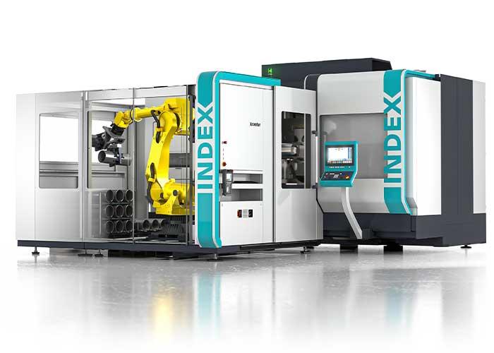 De nieuwe Index G400 is een compleet bewerkingscentrum voor onderdelen met een lengte tot maximaal 1600/2300 mm en kan worden geleverd met passende automatisering.