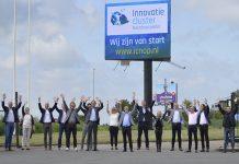 De leden van het Innovatiecluster Noordoostpolder zijn duidelijk blij met hun nieuwe website.
