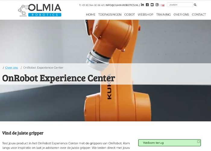 Olmia Robotics opent op 2 september haar Experience Center in Tiel.