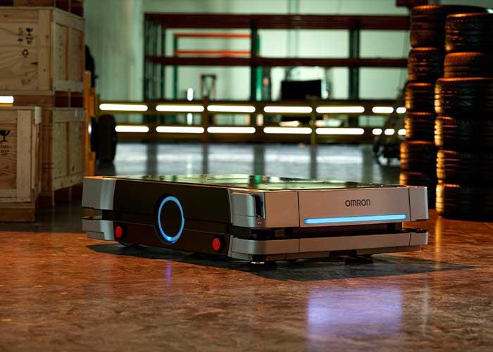 De HD-1500 biedt een veiligheidsdekking van 360 graden, wat een veilige gezamenlijke werkruimte bevordert.