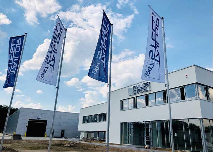 Hilden is de tweede productiefaciliteit in Duitsland voor 247TailorSteel.