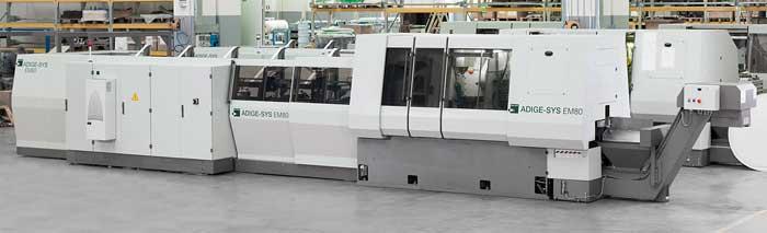 De EM80 van BLM is geschikt voor het zagen, frezen, draaien, boren en tappen van buis- en stafmateriaal.