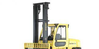 De nieuwe Hyster J7.0-9.0XNL-serie is emissievrij en beschikt over een hefvermogen van 7-9 ton.