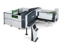 De Strippit PL pons-laser combinatie is beschikbaar in drie modellen. Dit is de Strippit PX 1530-L met de enkelvoudige kop.