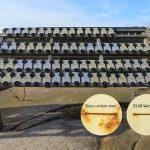 In 2012 is SSAB begonnen met het testen van geverfde monsters van weerbestendig staal in een ruwe buitenomgeving, om te evalueren in hoeverre dit beter bestand is tegen corrosie dan conventioneel geverfd staal.