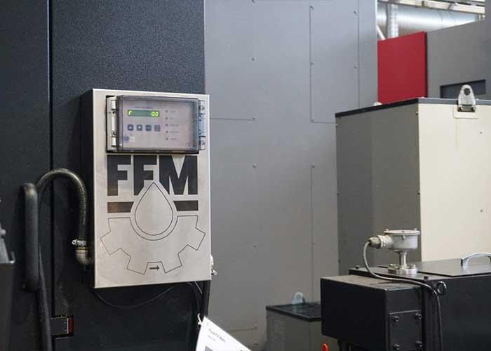 Het Fluid Fill Matic systeem zorgt ervoor dat de baden op niveau blijven. Dit gebeurt bij GFM per machine.