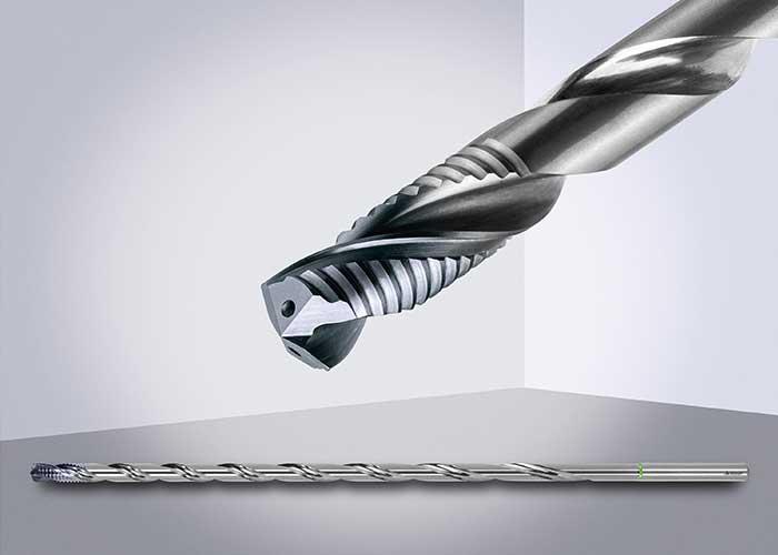 De diepgatboor GARANT Master Steel DEEP is een pionier van de nieuwste generatie voor proceszeker diepgatboren.