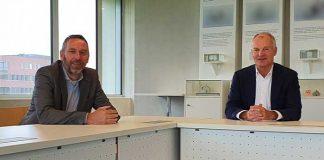 """Vice-voorzitter Menko Eisma (links) en voorzitter André Gaalman van FPT-VIMAG: """"Het uitstellen van de TechniShow was een complexe juridische situatie."""""""