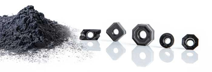 De CTCM245-hardmetaalkwaliteit komt op de markt voor het bewerken van hooggeleerde staalsoorten.
