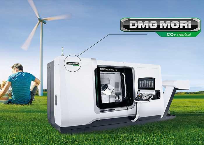 De waardeketen van productieoplossingen van DMG Mori zal vanaf 2021 CO2-neutraal zijn.