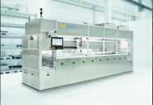 Het modulaire concept van de UCMSmartLine maakt de individuele opbouw van een ultrasone in-line dompelinstallatie voor een breed toepassingsspectrum mogelijk.