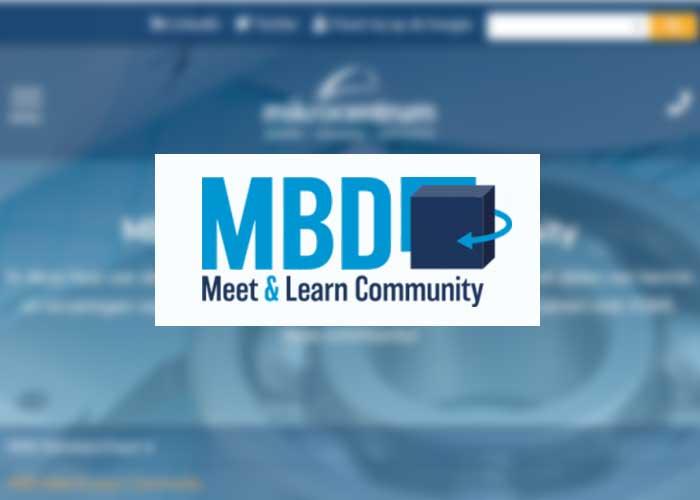 Op 13 oktober vindt het eerste online MBD Meet & Learn Community event plaats. Dit online event wordt georganiseerd in plaats van het reeds op deze datum geplande MBD Solutions Event.