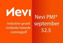 De Nevi PMI steeg van 52.3 in augustus naar 52.5 in september, de grootste verbetering van de industriële bedrijfsomstandigheden sinds februari.