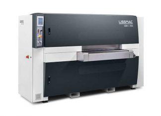 Met de SBM-L 1000 G1S2 van Lissmac kunnen met een droog proces, staal, roestvrij staal en aluminium aan beide kanten worden bewerkt.