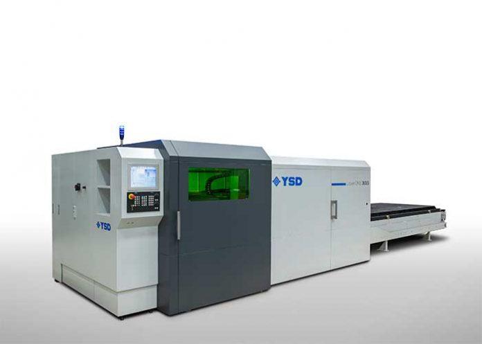De YSD LaserONE is ontdaan van alle extra's die de prijs van de machine de hoogte instuwen en wordt aangeboden met een laserbron van 2 of 4 kW.
