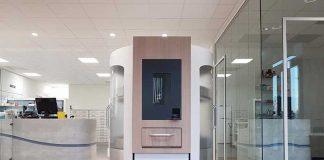 De medicijnenrobot MedEasy voor de uitgifte van verpakte medicijnen was het eerste project van de partners van Technet.