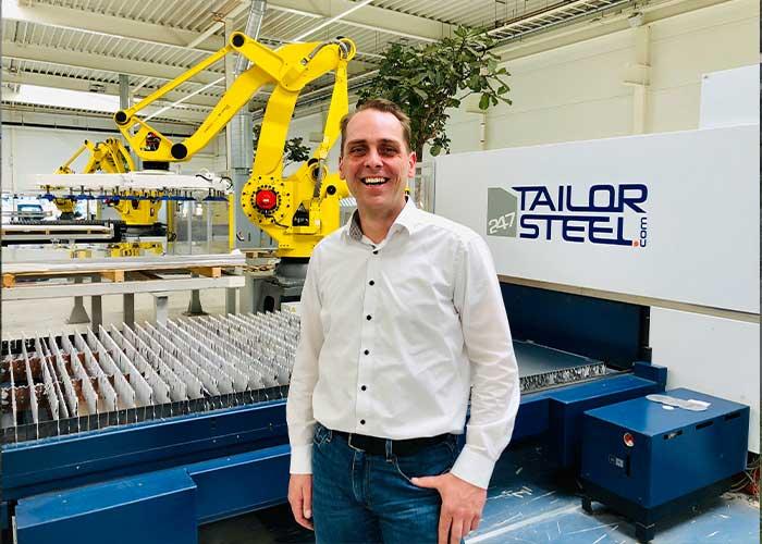 """COO Frank Gelen: """"We hebben dit jaar een veel grotere klantenkring in Duitsland en België opgebouwd. Dat betekent dat we een grotere basis hebben voor groei als corona onder controle is en de markt weer aantrekt."""""""